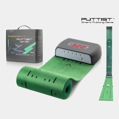 3-putt Killer, PUTTIST(Rechargeable, Black), Digitial Putting Game Trainer, Your Own Digital Green up to 45ft, Do you have the sense of every feet to 45? Why putting mat is 10 ft. short?