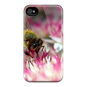 FNO102samP Case Cover Bee On Autumn Joy Iphone 4/4s Protective Case