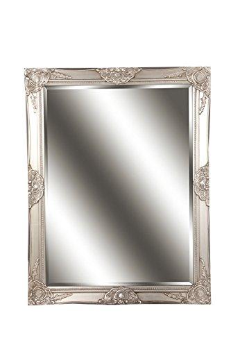 Spiegel Wandspiegel Celia Antik Silber Barock 70 X 90 Cm Amazon De