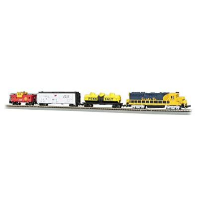 Bachmann Trains - Thunder Valley Ready To Run Electric Train Set - N Scale: Toys & Games