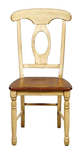 Winners Only Quails Run Napoleon Dining Side Chair Set of 2 in Almond/Wheat - DQ1451SW