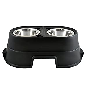 OurPets Comfort Diner Elevated Dog Food Dish (Raised Dog Bowls Available in 4 inches, 8 inches and 12 inches for Large Dogs, Medium Dogs and Small Dogs) 1