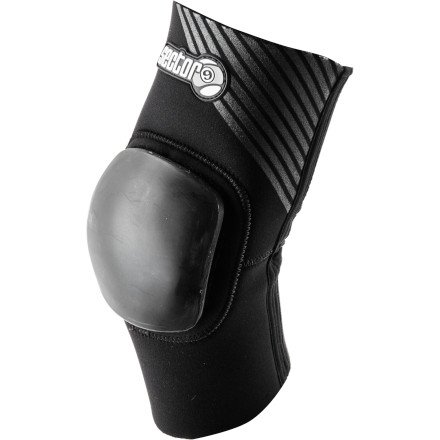 (Sector 9 Gasket Elbow Pad Protective Gear, Black, Small/Medium)