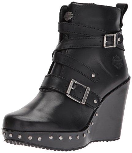 Harley Davidson Womens Boots (Harley-Davidson Women's Linley Fashion Boot, Black, 8.5 Medium US)