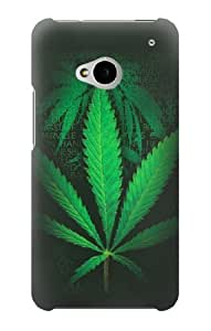S1835 Marijuana Plant Case Cover For HTC ONE M7