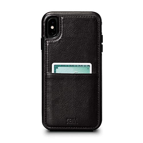 Sena Cases, Wallet Skin Dress Your Tech in Stylish Leather Case Apple iPhone Xs Max (6.5 inch) ()