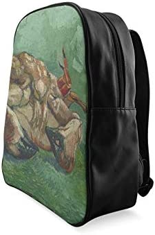 Crab On Its Back By Vincent Van Gogh Youth Daypack Colorful Fashion Bag Girl School Bag Print Zipper Students Unisex Adult Teens Gift