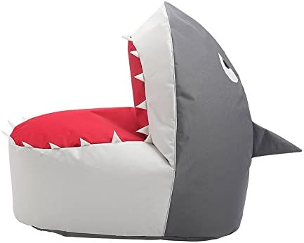OLizee Creative Shark Bean Bag Chair