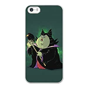 The best gift for Halloween and ChristmasiPhone 5 5s Cell Phone Case White Fat Maleficent Sleeping Beauty RPR4993974