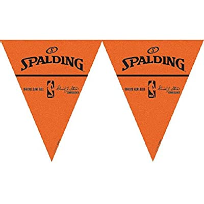 """Spalding Basketball Collection"" Pennant Banner, Party Decoration: Toys & Games"