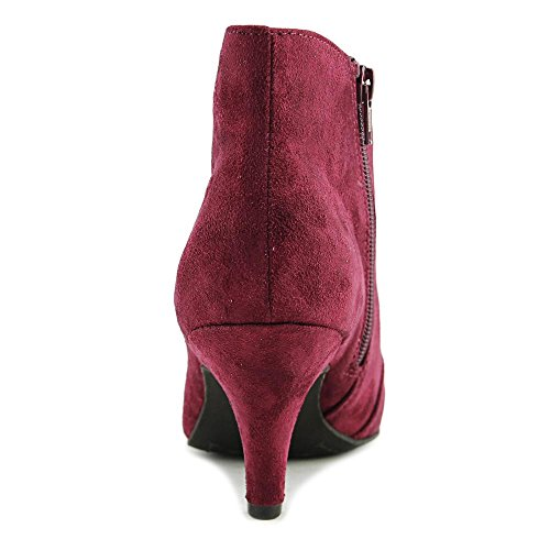 Suedette Toe Bordeaux Synthetic Womens Almond Boots Fashion Ankle MAXINE Fabric Rialto IWxawqfzUf