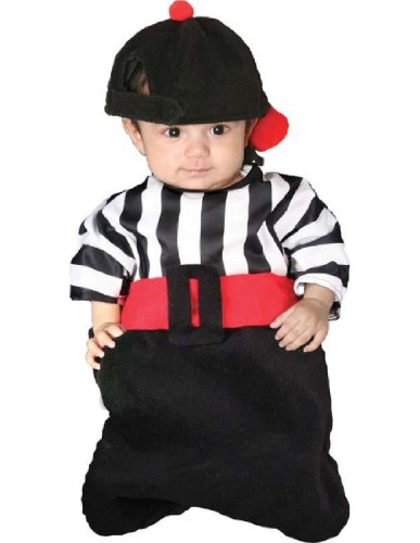 [BUNTING FOUL W HAT] (Toddler Referee Costumes)