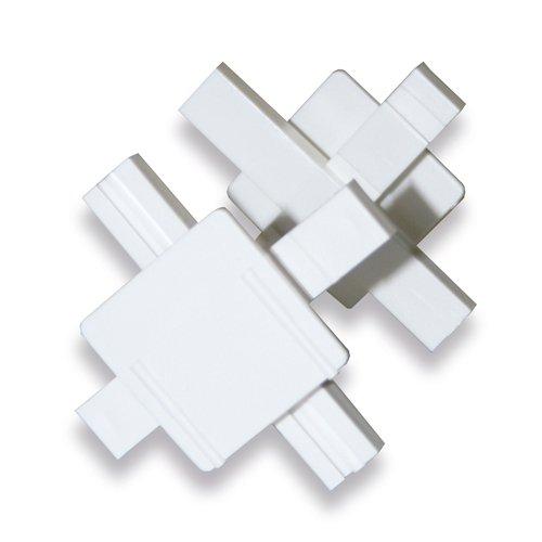25 piezas espaciadores Azulejos para 8 cm bloques de vidrio y ancho de la junta 10mm Fuchs Design