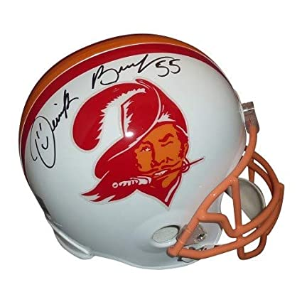 Image Unavailable. Image not available for. Color  Derrick Brooks  Autographed Signed Auto Tampa Bay Buccaneers Throwback ... 242ab5d12