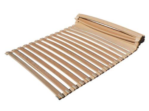 Rollrost 100x200 cm Lattenrost - Federholzlatten aus Buchenholz - hochbelastbar!