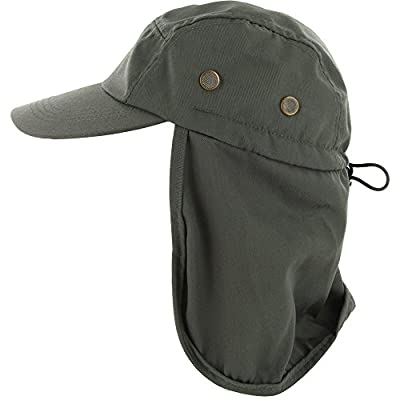 DealStock Fishing Cap with Ear and Neck Flap Cover