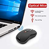 KETAKY Wireless Laser Presenter Mouse, 2 in 1 2.4