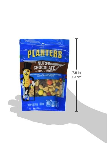 Planters Nuts And Chocolate Trail Mix  Oz