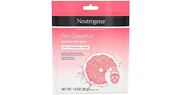 Amazon.com: Neutrogena - Máscara de pomelo rosa 100 ...