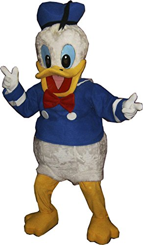 [Donald Duck Mascot Costume Adult Cartoon Character Costume] (Donald Duck Costumes For Adults)