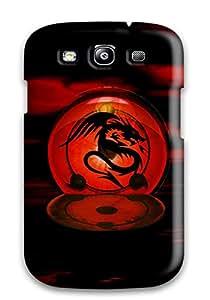 Hot 1732597K59452504 New Dragon Symbol Tpu Case Cover, Anti-scratch Phone Case For Galaxy S3