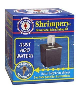 Brine Shrimp Diet - San Francisco Bay Brand ASF66170 Brine Shrimp Shrimpery Baby Fish and Reef Tanks