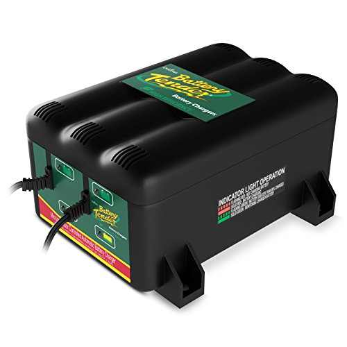 (Battery Tender 022-0165-DL-WH 12-Volt 2-Bank Battery Management System)