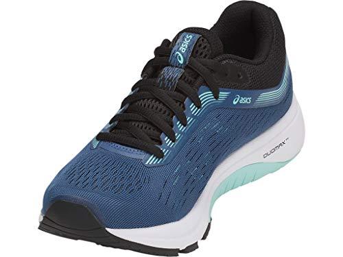 ASICS Women's GT-1000 7 Running Shoes, 9M, Grand Shark/Black