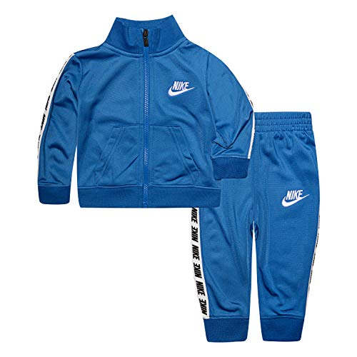 Nike Baby Boys Tricot Track Suit 2-Piece Outfit Set, Game Royal, 6M (Jordan Toddler Outfit)