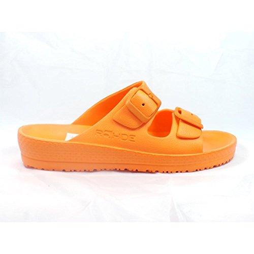 Rohde - Zuecos para mujer naranja naranja