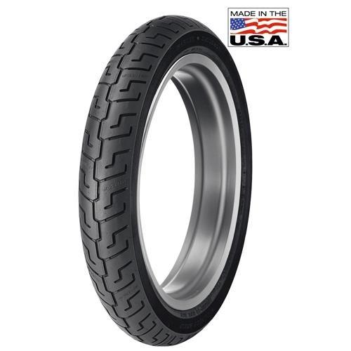 Dunlop K591 Harley-Davidson Tire - Front - 100/90-19 , Speed Rating: V, Tire Type: Street, Tire Construction: Bias, Position: Front, Tire Size: 100/90-19, Rim Size: 19, Load Rating: 51, Tire Application: Cruiser 302325