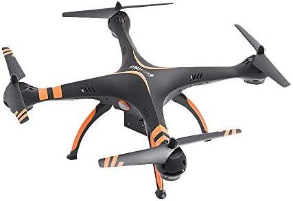 PNJ Uranos – Drone con función Photo Video, Radio-commande con Soporte Smartphone – Negro y Naranja: Amazon.es: Informática
