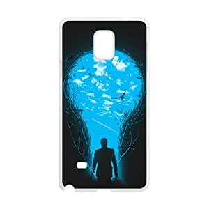Samsung Galaxy Note 4 Cell Phone Case White BRIGHTER SIDE MWN3932347