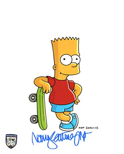 Nancy Cartwright Signed / Autographed Simpsons 8x10 Glossy Photo as Bart. Includes Official Pix Certification and Cataloged Number with COA. Entertainment Autograph Original. The simpsons, Homer, marge, Lisa ()