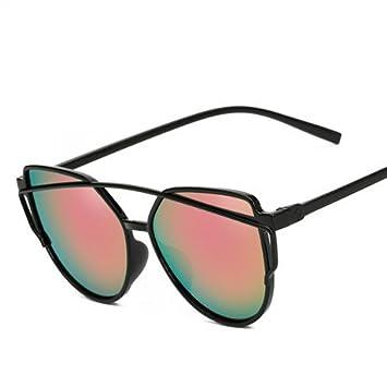 GGSSYY Gafas de sol Mujer Espejo Conducción Hombres Gafas de ...