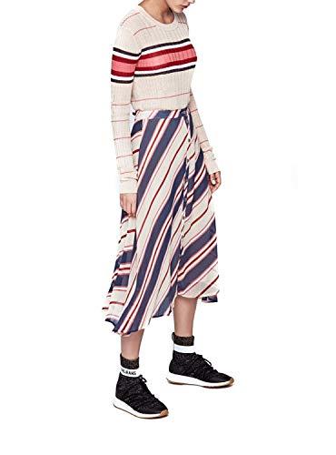 manche Multi shirt Mina Sans Jeans Femme 0aa Pepe Bleu Multicolore T qtx1FXtw8