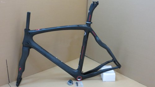 Asymmetrical & Fit Di2 Pinarello Dogma 65.1 Think2 Aero Seatpost Carbon Road Bike Frames BOB Black Matte Bicycle Frame Set