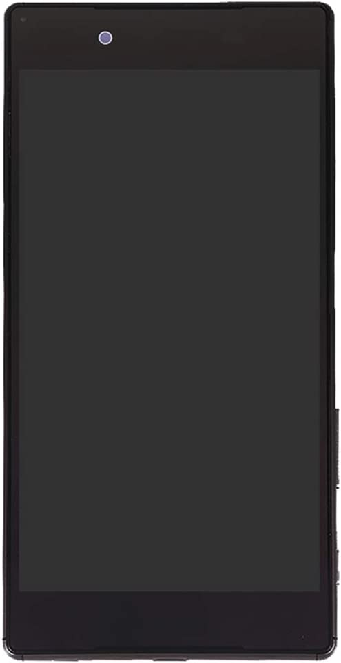 LIYUNSHU LCD Screen and Digitizer Full Assembly with Frame for Sony Xperia Z5 Color : Black Black