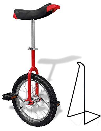 Funsport Einstellbares Einrad 16 Mit St/änder