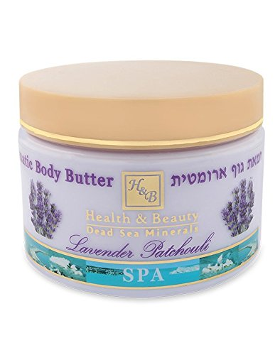 Health & Beauty Dead Sea Minerals Health & Beauty Dead Sea Aromatic Body Butter Lavender Patchouli 244
