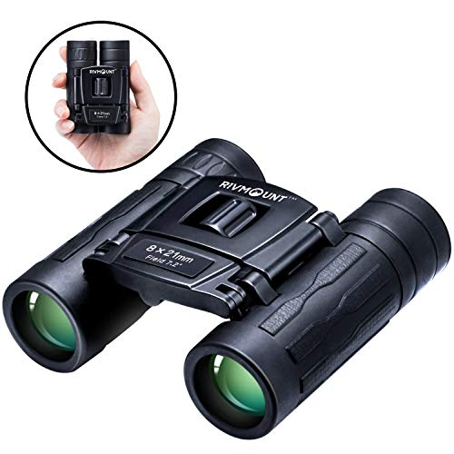 Binoculars for Adults and Kids Compact Durable,8x21 HD Roof Prism with FMC BAK7 Lens for Hiking Birdwatching Travel and Concert RMB202