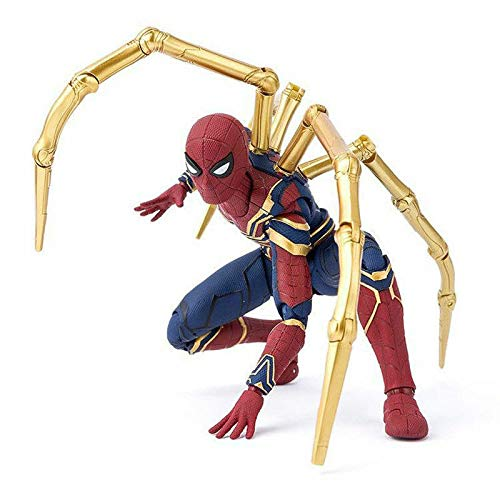 Avengers Marvel Spiderman Infinity War Iron Spider-Man Action Model Figure - Man Spider Model