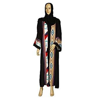 Giro Black Casual Abaya For Women