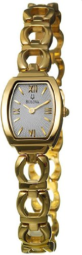 Bulova Ladies' Yellow Tone, Bulova Fashion Watch # 97V28