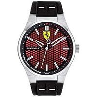 Relógio Scuderia Ferrari Masculino Borracha Preta - 830353