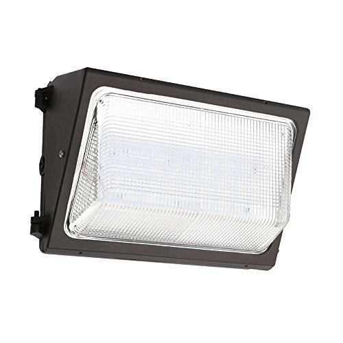 UL & DLC Listed- LED 80W Wall Pack DIMMABLE Outdoor Lighting, 5000K Cool White, 7,000 Lumens, 400 Watt Equivalency, HIGHEST Quality, Wall Light, Industrial, Commercial, Residential Light