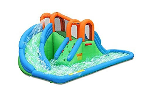 Island Water Park Water Slide - Bounce Houses Water Slides