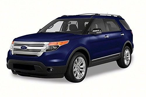2015 Ford Explorer XLT SUV, Blue - Motor Max 73186 - 1/18 Scale Diecast Model Toy (Blue Suv)