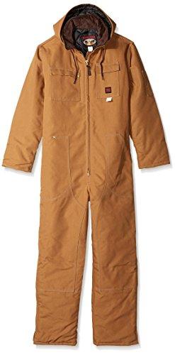 Tough Duck Men's Heavywt. Overall, Brown, XL