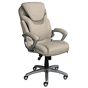 Serta AIR Health and Wellness Executive Office Chair, High Back Big and Tall Ergonomic for Lumber Support Task Swivel…